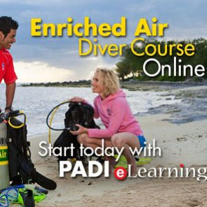 PADI Online Enriched Air Diver Course Lite